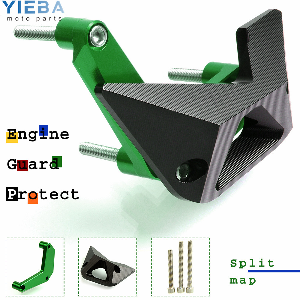Protective Motorcycle For Kawasaki Z900 <font><b>Z1000</b></font> 2010 2011 2012 2013 2014 <font><b>2015</b></font> 2016 2017 Engine Guard Side Protector Cover Kits image