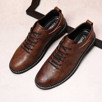 loafer shoe Men casual Shoes Men Genuine Leather Top Quality Oxfords British Style Men Flats Dress Shoes Business Formal Shoes * цена 2017