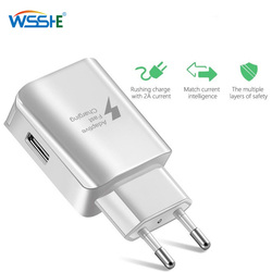 Quick Charge 3.0 USB Charger 2A Mobile Phone Fast Charging EU Plug Wall Charger For iPhone X XS Samsung Xiaomi Charger Travel