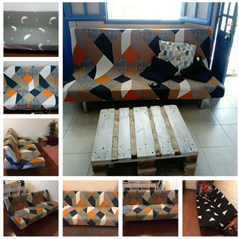 Elastic Stretchable Sofa Covers for Single to 4 Seated Sectional Sofas in Living Room 5