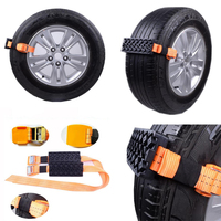 Anti Skid Anti Slip Tire Emergency Snow Mud Sand Tire Chain Straps Traction Device for Car Trucks