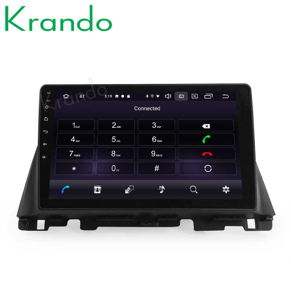 "Krando Android 10.0 9 ""Ips Full Touch Auto Multimedia Radio Voor Kia K5 Optima 2015-2020 Audio Dsp wifi Navi Bluetooth Carplay"