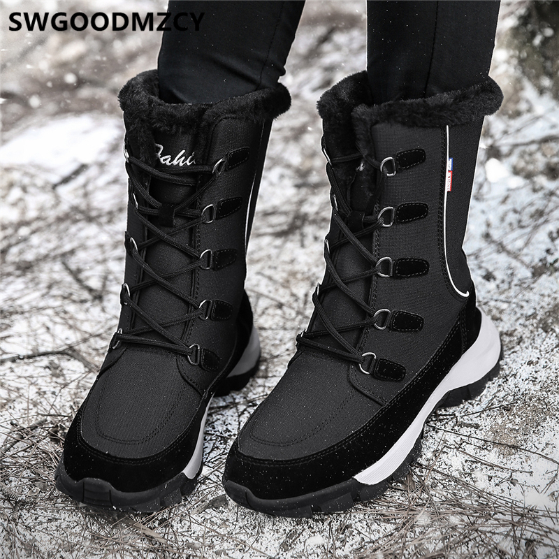 Mujer botas de invierno nieve botas botines de mujer zapatos de moda zapatos de mujer chaussures femme sapato femenino Zapatos planos de alpargatas para mujer, zapatillas blancas superligeras, mocasines de verano y otoño, chaissures, zapatos planos de cesta para mujer