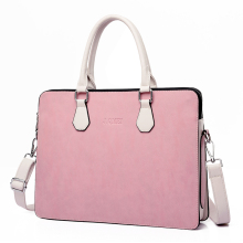 Handbags Laptop-Bag Case Shoulder Shockproof J.QMEI Women PU 14 15-15.6