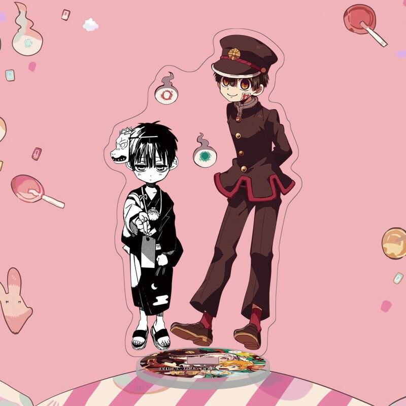 Acrylique Stand Figure WC-Bound Jibaku Shounen Hanako Kun Nene Yashiro 15 cm