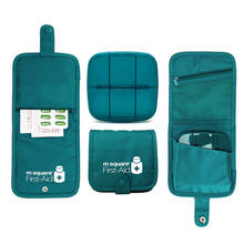 Mini First Aid Kit Home Car Bandage First Aid Bag Outdoor Camping Sport kit Medical Bag Tactical Military Emergency Survival kit цена