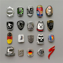 Stickers Badge Decals Bike Bicycle MTB Electric-Scooter Folding Aluminum-Alloy FOR BMX