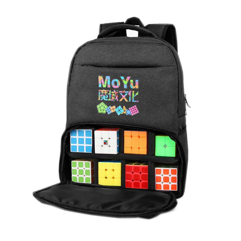 Moyu حقيبة الظهر مكعب أكياس مكعبات المهنية ل بازل سحري Cubo 2x2 3x3x3 4x4 5x5 6x6 7x7 8x8 لعب للكبار ألعاب هدية