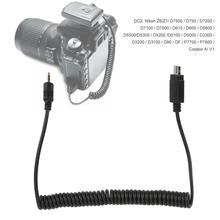 shutter release button YouPro DC2 Camera Shutter Flash Trigger Connecting Line Spring Wire for Nikon SLR D5200 D5100 D5300 D5000