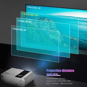 Image 5 - ThundeaL HD Mini projektör TD90 yerli 1280x720P LED Android WiFi projektör Video ev sineması 3D HDMI film oyun Proyector
