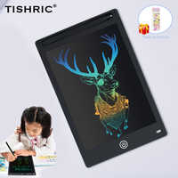 TISHRIC 8.5/10/12 inch Kids Color Screen Digital Graphic Tablet ICD Drawing Board Writing Pad Stylus Pen Erasable for Education