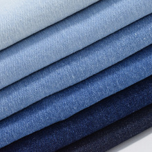 Factory wholesale washed twill woven 100% cotton 10S 10oz denim fabric for jeans