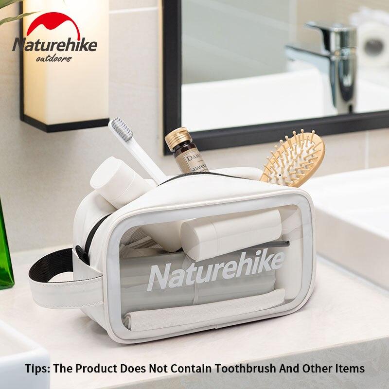 Naturehike Toiletry Bag PVC Waterproof 600D Travel Digital Product Storage Bag Portable Convenient Ultralight
