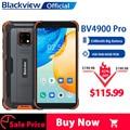 Blackview BV4900 Pro IP68 Robuste Telefon 4GB 64GB Octa Core Android 10 Wasserdichte Handy 5580mAh NFC 5,7 zoll 4G Handy