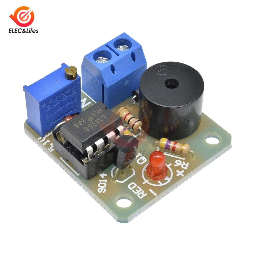 Модуль будильника 9 В/12 В, звуковой и светильник, сигнал будильника для перенапряжения, низкого напряжения/пониженного напряжения|Регуляторы напряж./стабилизаторы|   | АлиЭкспресс