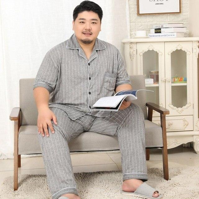 100% Cotton Pajamas For Men Plus Size Available 5