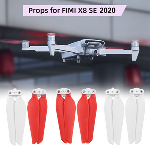 4/8pcs Quick-Release Props for FIMI X8 SE 2020 Drone Propellers Blades Quick Release Backup Blade Screw Parts Accessory CW CCW