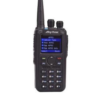 Image 5 - Anytone AT D878UV زائد هام لاسلكي تخاطب ثنائي النطاق الرقمية DMR و التناظرية لتحديد المواقع APRS بلوتوث PTT اتجاهين راديو مع كابل الكمبيوتر