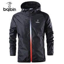 2021 nova primavera verão dos homens moda outerwear blusão masculino fino jaquetas com capuz casual casaco esportivo tamanho grande