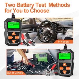 Image 5 - Konnwei kw208 testador de bateria carro 12v 100 a 2000cca bateria ferramentas para carro rápido cranking carregamento diagnóstico carregador analisador