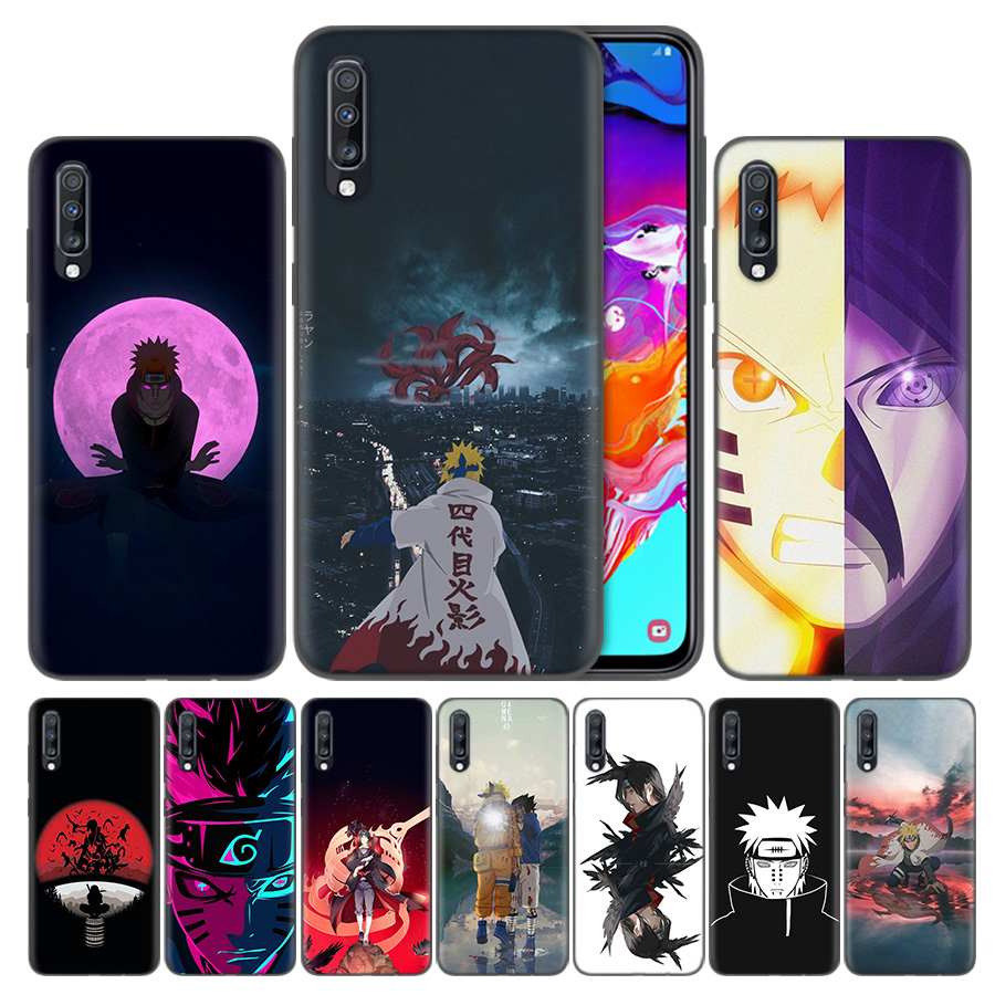 Anime Naruto Japan Bags Coque Phone Case For <font><b>Samsung</b></font> Galaxy S8 S9 A50 S10 <font><b>S10e</b></font> Plus 5G A10 A20 A30 A40 A60 A70 Back Covers image