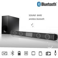 20W Home TV Speaker Wireless Bluetooth Speaker Soundbar Sound Bar Sound System Bass Stereo Music Player Boom Box with FM Radio