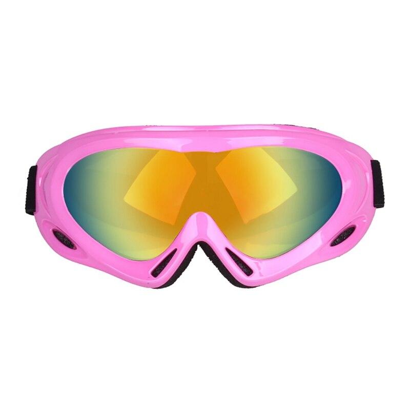 Winter Windproof Skiing Glasses Goggles Adult Kids Outdoor Sports Snowboard Ski Goggles Dustproof Moto Cycling Sunglasses