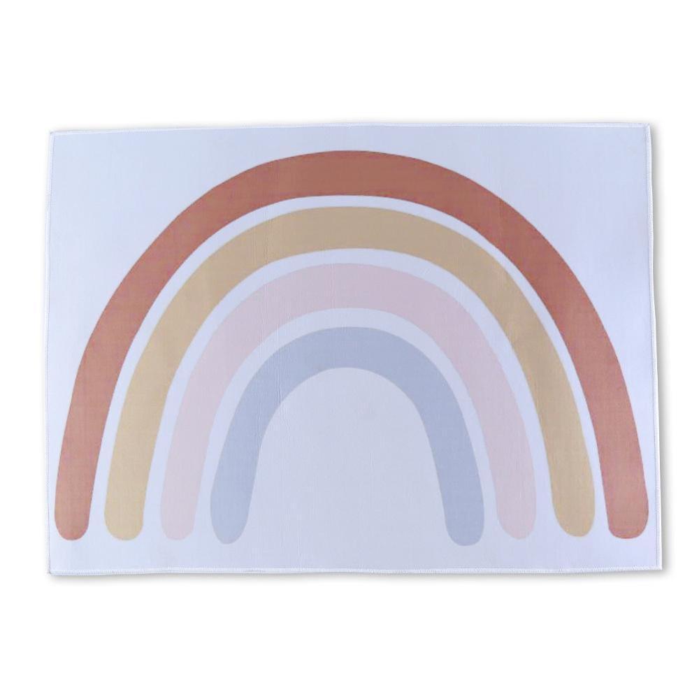 Baby Speelmatten Kinderen Tapijt Vloermat Tapete Quarto Rainbow Boho Kinderen Speelmat Nursery Decor Tummy Tijd Tapijten Voor Sl