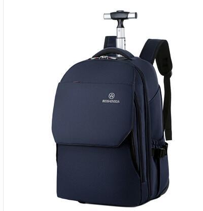 WEISHENGDA bagage à roulettes sac à dos femmes portent des sacs de bagages à main chariot de voyage sac à dos sacs à roulettes valise Trolley