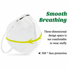 Fast Shipping 50pcs KN95 Mask N95 Mask FFP2 Anti-Dust Mouth Face Mask 95% Filtraion Cotton Masks 4-layer Protective Cover Mask