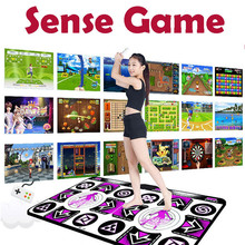 Dance-Mats Double-User for Pc Tv 150-Games/wireless Sense-Game Non-Slip English 2-Person