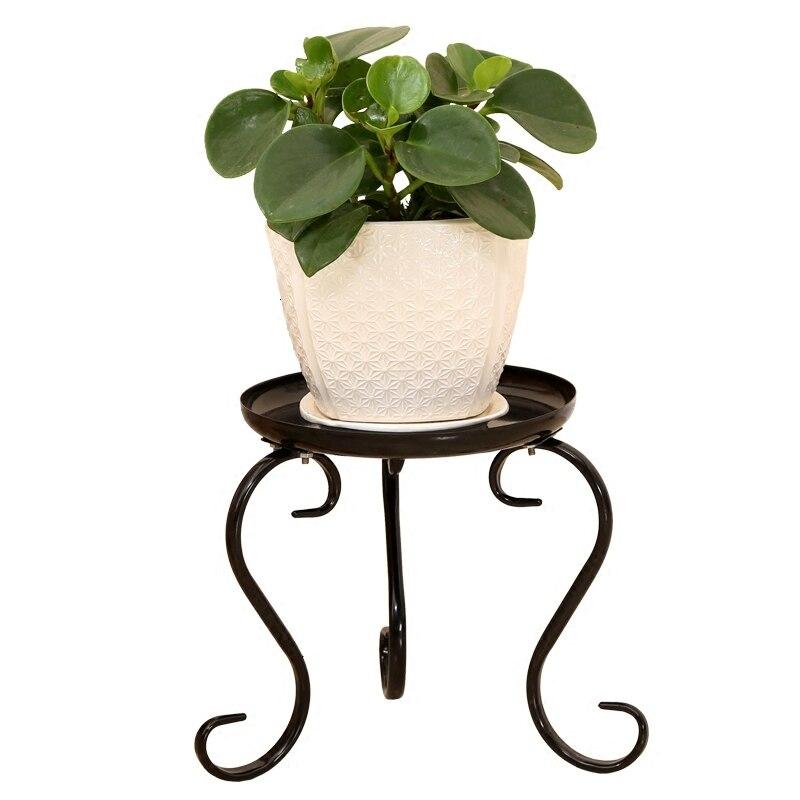 Free European Style Flower Rack Iron Art Balcony A Living Room Indoor Chlorophytum Flowerpot Frame Botany More Meat