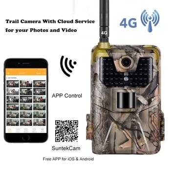 APP Trail Camera Cloud Service 4G Cellular Mobile Wildlife Hunting Cameras 20MP Wireless HC900LTE 1080P Surveillance 1