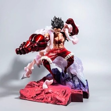 32 CM Gear 4 The Snake Man Luffy Action Figure Katakuri Anime One Piece King of Artist  Monkey D Luffy PVC Collectible Toys