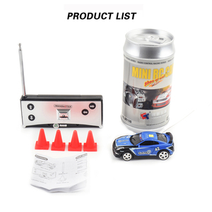 Image 5 - 8 Colors 20Km/h Coke Can Mini RC Car Radio Remote Control Micro Racing Car 4 Frequencies Toy For Kids Gifts RC Models Hot Sales