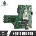 09909-1 для DELL inspiron N5010 CN-0VX53T CN-052F31 09909-1 48.4HH01. 011 HM57 HD5650 GPU Бесплатная доставка ЦП оригинальная тестовая материнская плата