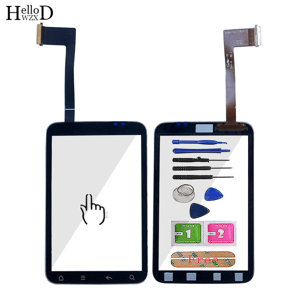 3.2'' Touch Screen For HTC Wildfire S G13 A510E Touch Screen Digitizer Panel Front Panel Outer Glass Parts Sensor Tools 3M Glue