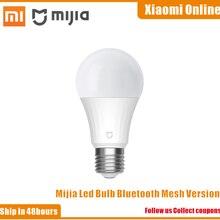 Xiaomi – ampoule Led intelligente Mi, Bluetooth, maille, lampe intelligente, contrôlée par l'application Mijia, couleur ajustée, température, nouveauté