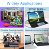 Portable monitor 15.6''4K lcd hd HDMI USB Type C display for PC laptop phone PS4-switch-XBOX 1080p gaming monitor ips screen 1