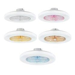 Wi-Fi приложение потолочный вентилятор лампа Смарт потолочные вентиляторы с подсветкой дистанционное управление гостиная спальня декор Осв...