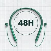 Auriculares TWS inalámbricos por Bluetooth, cascos deportivos de larga duración, 48H, para correr, a prueba de agua, con reducción de ruido