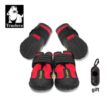 Truelove Pet Dog Shoes For Small Large Dogs Outdoor Reflector Paws Puppy Boots Footwear Buty Dla Psa