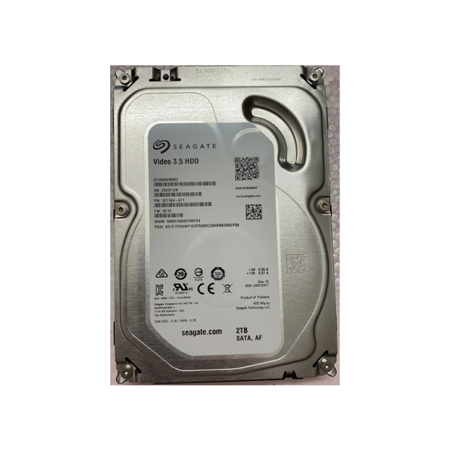 "New HDD For Seagate  1TB/2TB/3TB/4TB 3.5"" SATA 6 Gb/s 64MB 5900RPM For Internal Hard Drive For Surveillance HDD 2"