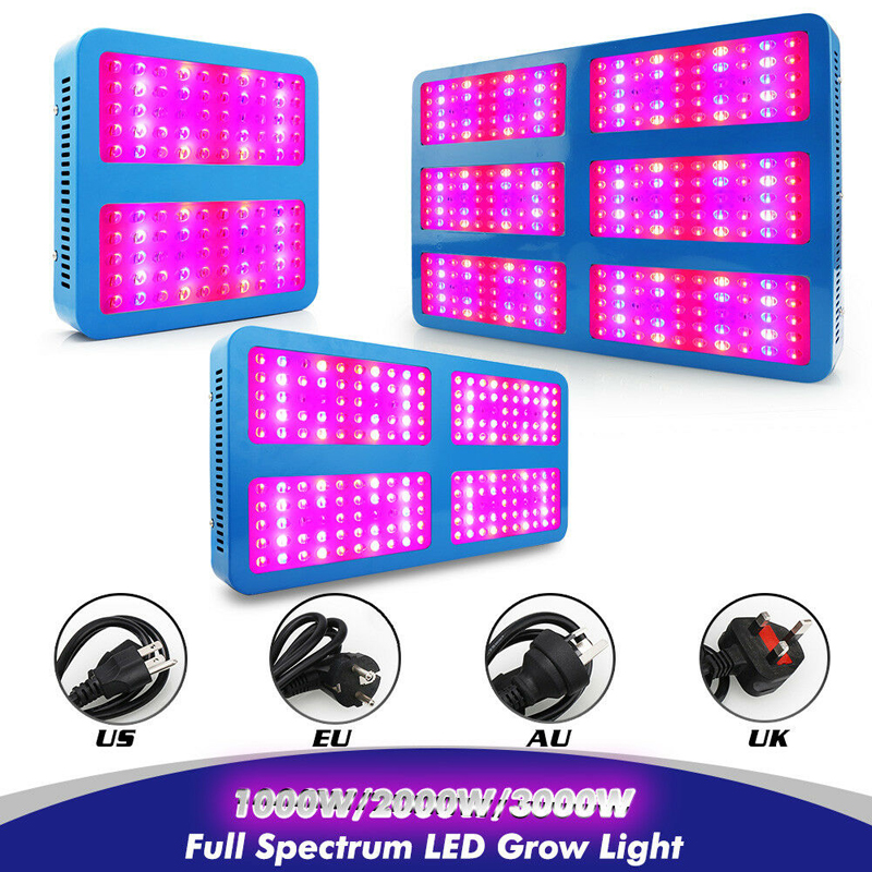 LED <font><b>Grow</b></font> Light 1000W/2000W/3000W Full Spectrum Growing Lamps For Indoor Plants Flowers Seedling Greenhouse <font><b>Grow</b></font> <font><b>Tent</b></font> Phyto Lamp image