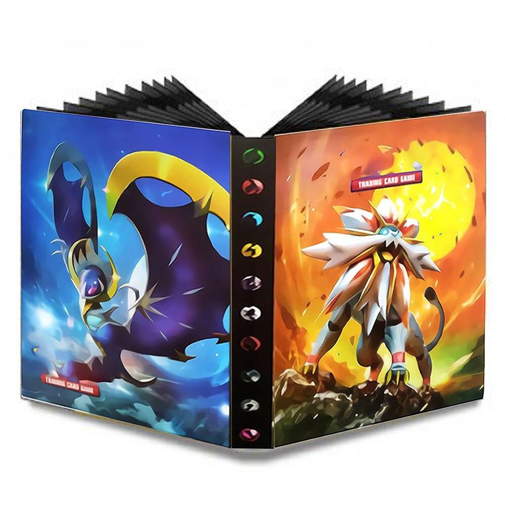Pokemones карты Vmax GX усилительный насос карточная игра Избранное держатель альбомная игрушка коллекций книжная Топ загруженный список игрушка ...