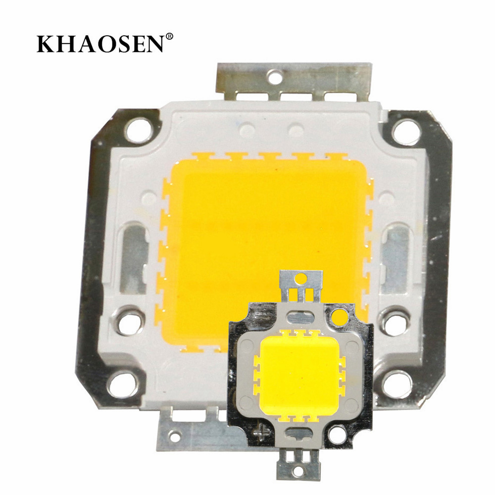 LED Beads Chip 10W 20W 30W 50W 70W 100W High Brightness COB Chip White WarmWhite For DIY Flood Light Spotlight