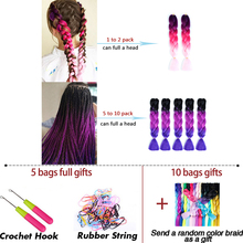Jumbo Synthetic Braiding Hair