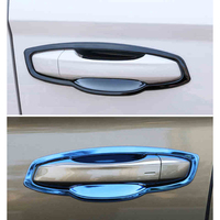 Lsrtw2017 Stainless Steel Car Door Bowl Panel Trims for Skoda Kodiaq Karoq Gt Interior Mouldings Accessories
