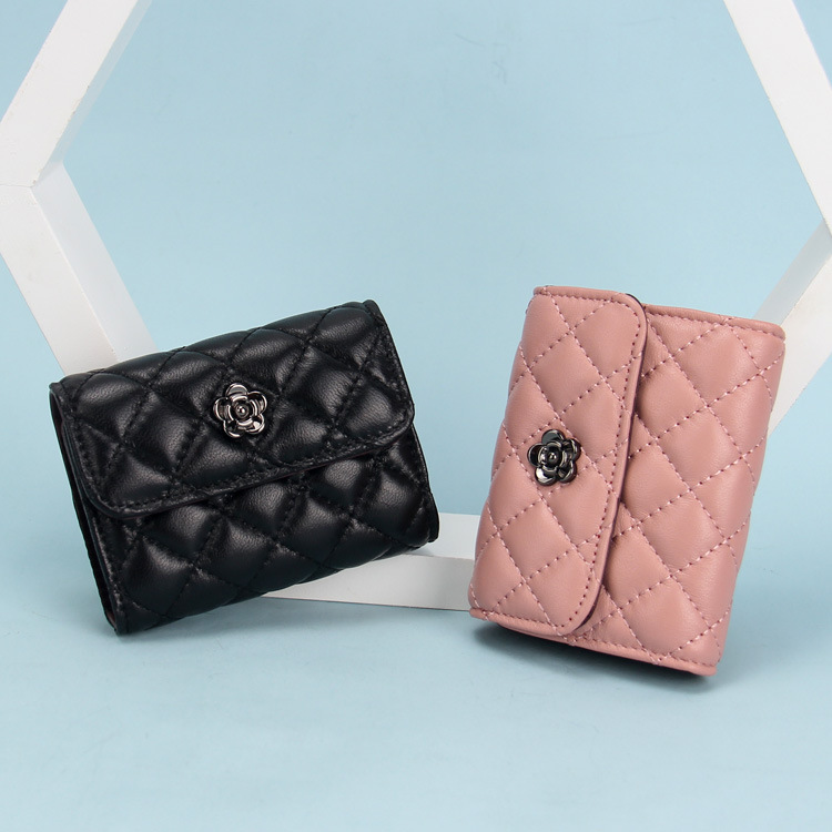 2019 New Style Fashion Genuine Leather Card Bag Korean-style Full-grain Leather Organ Wallet Card Bit More WOMEN'S Card Holder