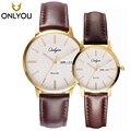 ONLYOU horloges Heren Top Merk Luxe Quartz liefhebbers Horloge Mode Casual vrouwen horloge 81115